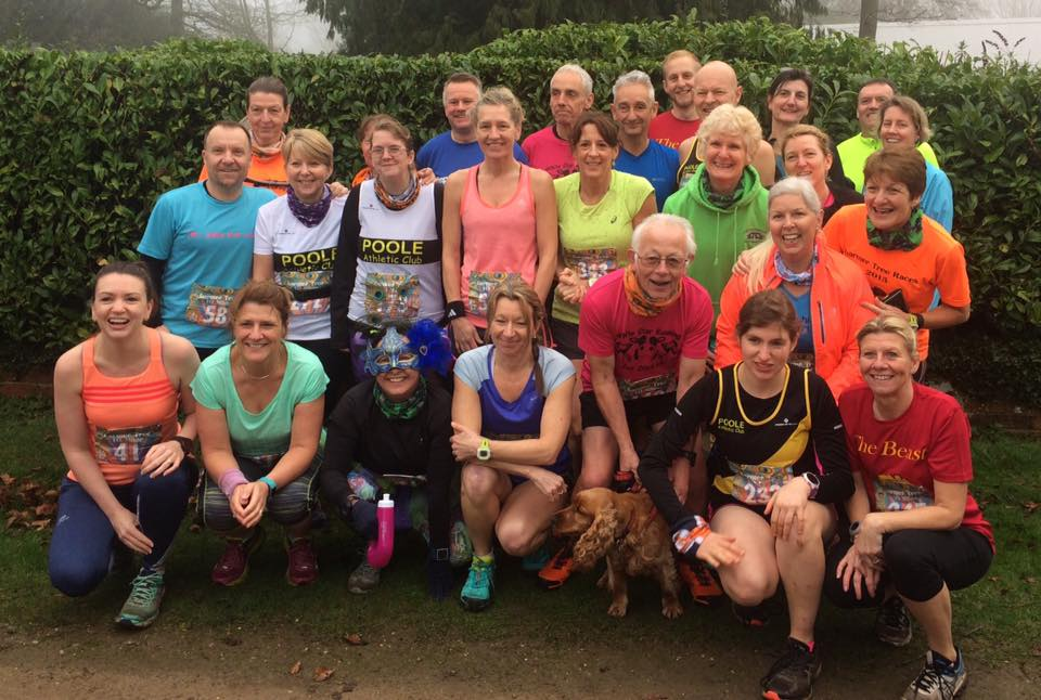 Poole AC at running race