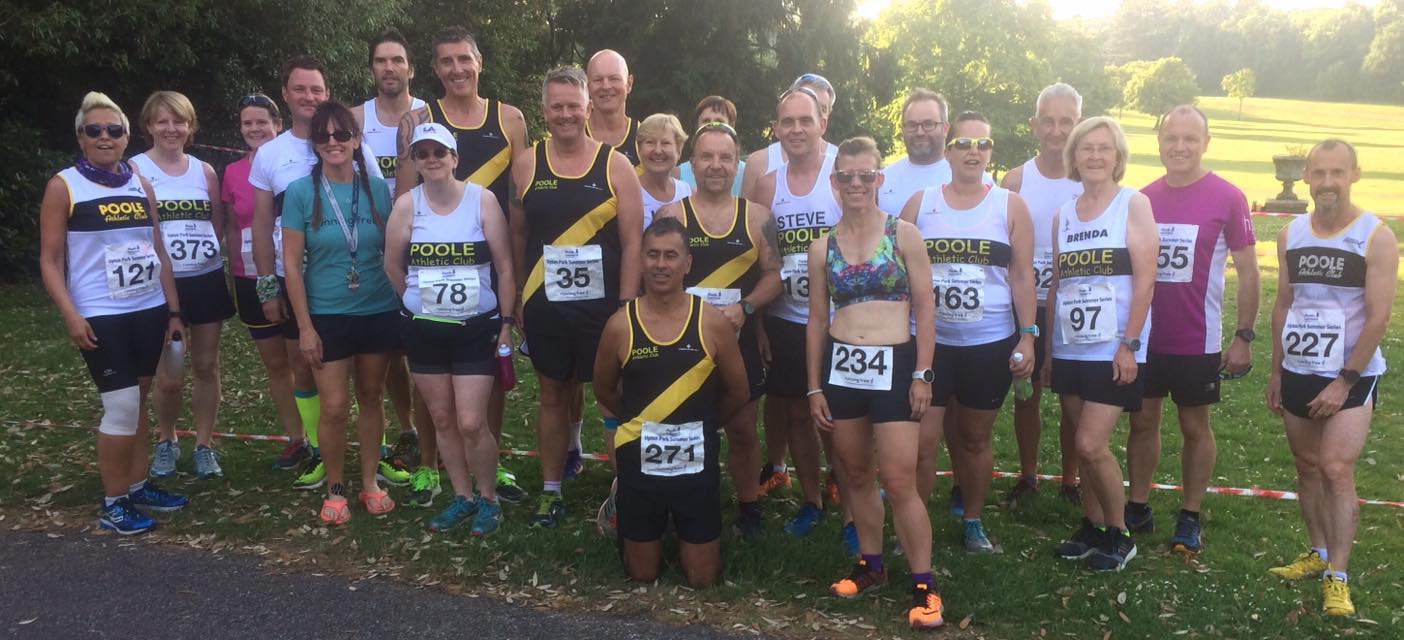 Poole AC at Upton House Summer Series