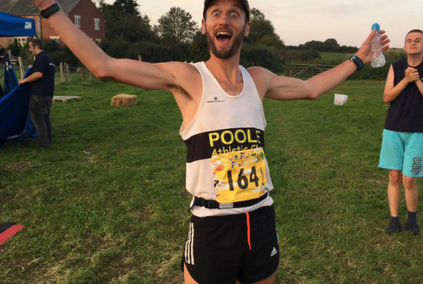 Poole AC's David Broadley at East Farm Frolic