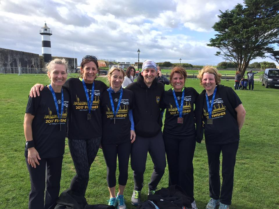 Poole AC at Great South Run 2017