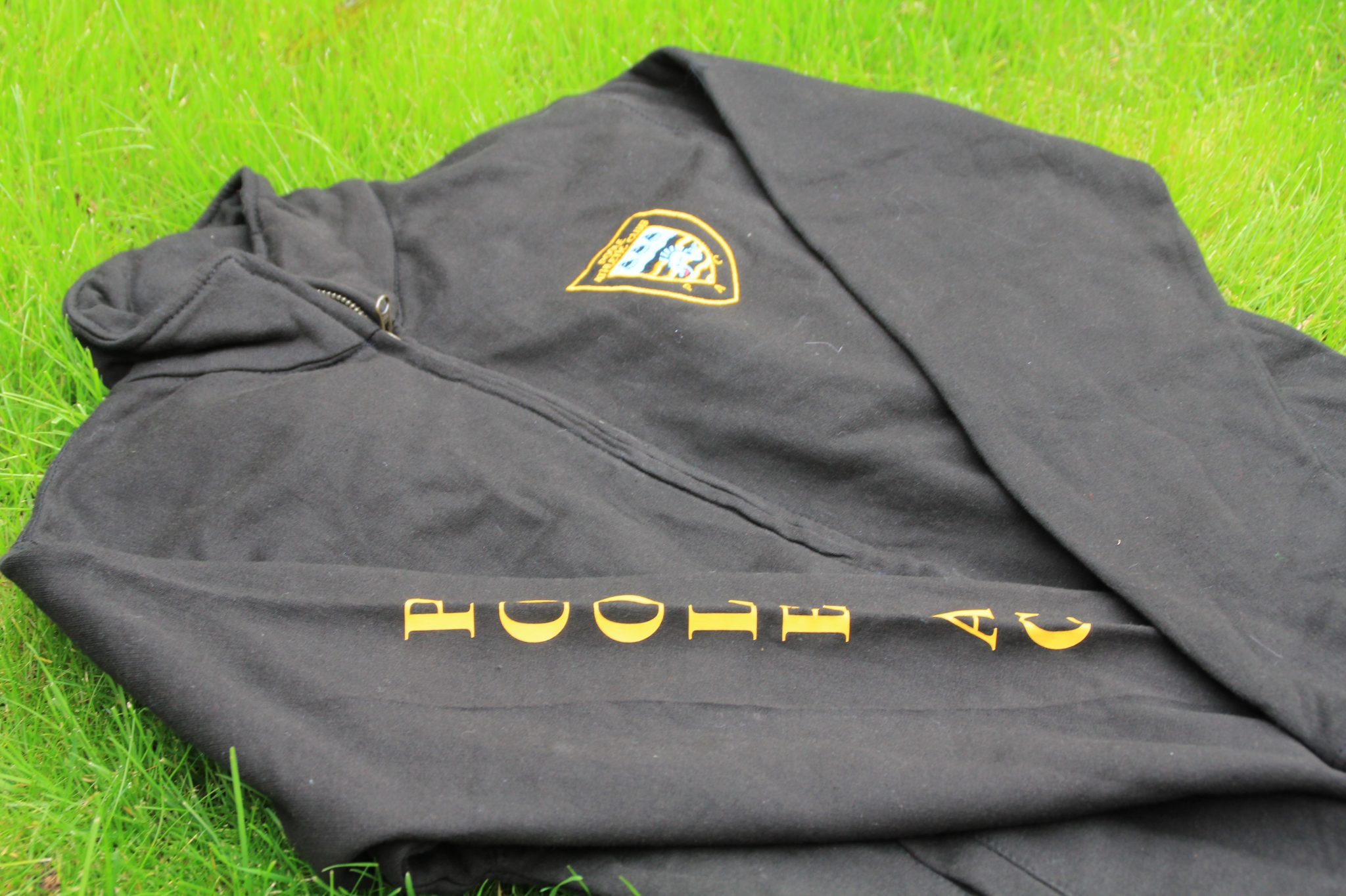 Poole AC Zip up sweater