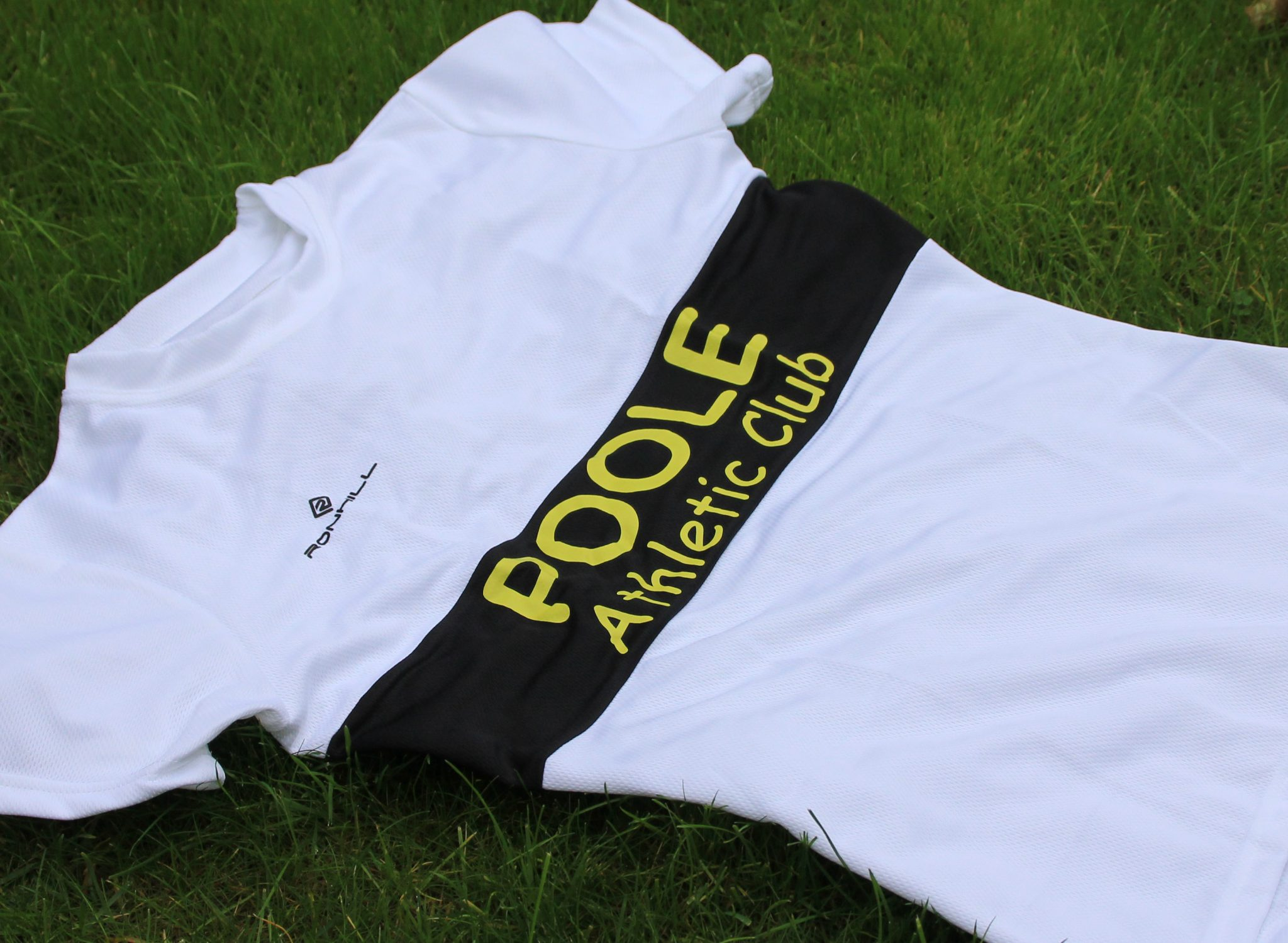 Poole AC road running t shirt