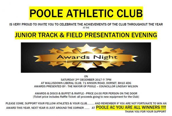 Poole AC JuniorXMAS