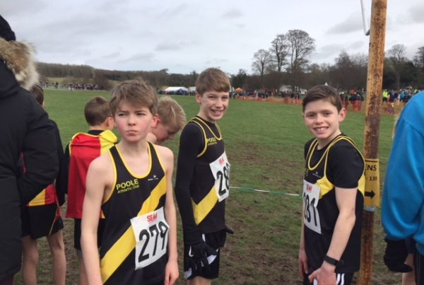 Junior cross country at southern championships