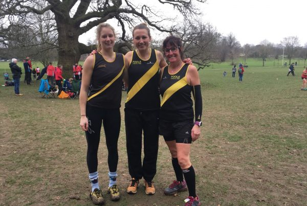 Senior ladies at Hampshire XC