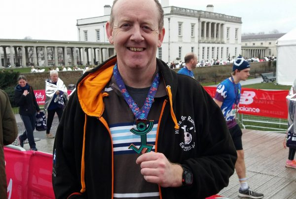 Gary Tyler at Big Half Marathon in London