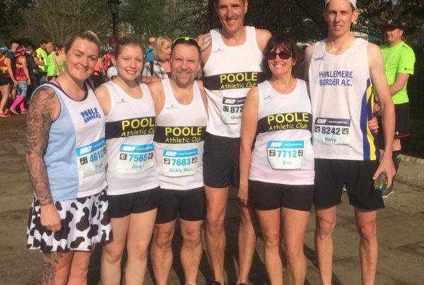 Poole AC at Southampton Marathon