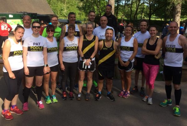 Poole AC at Moors Valley 10k