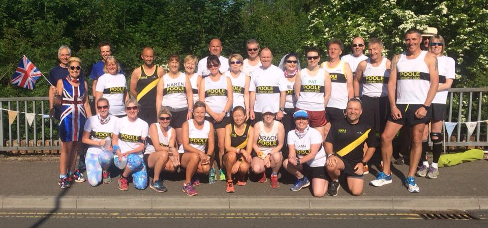 Poole AC at Blandford parkrun