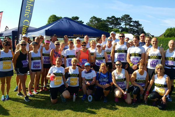 Poole Ac Seniors at Poole Festival of Running