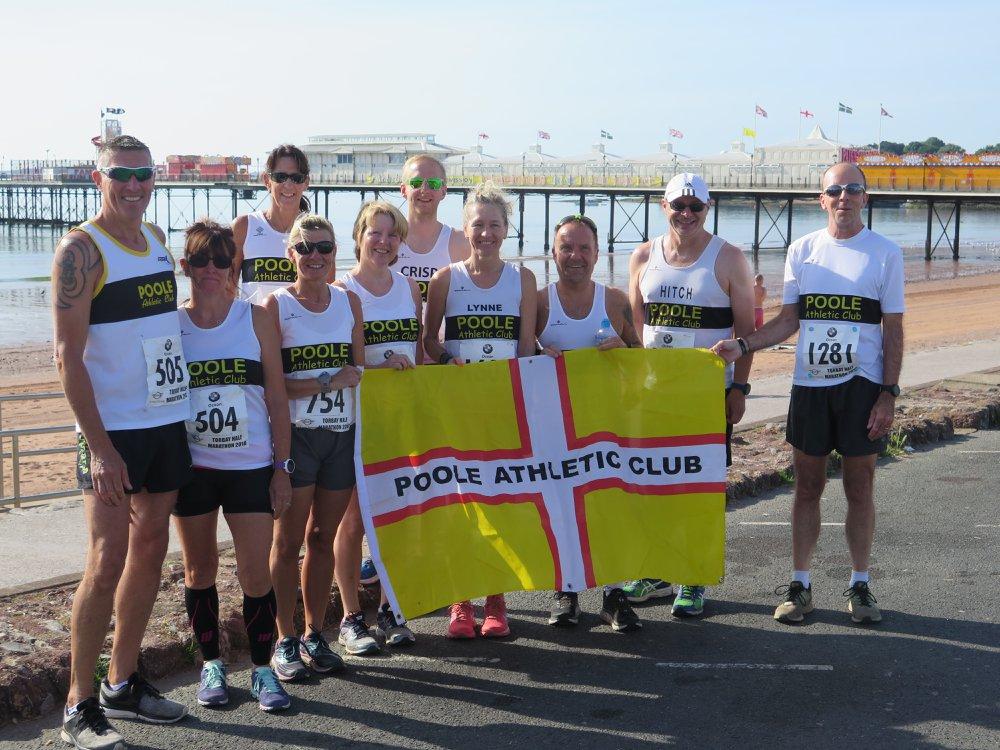 Poole AC at Torbay Half Marathon