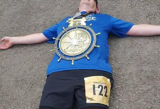 Gary Tyler at Phoenix Marathon