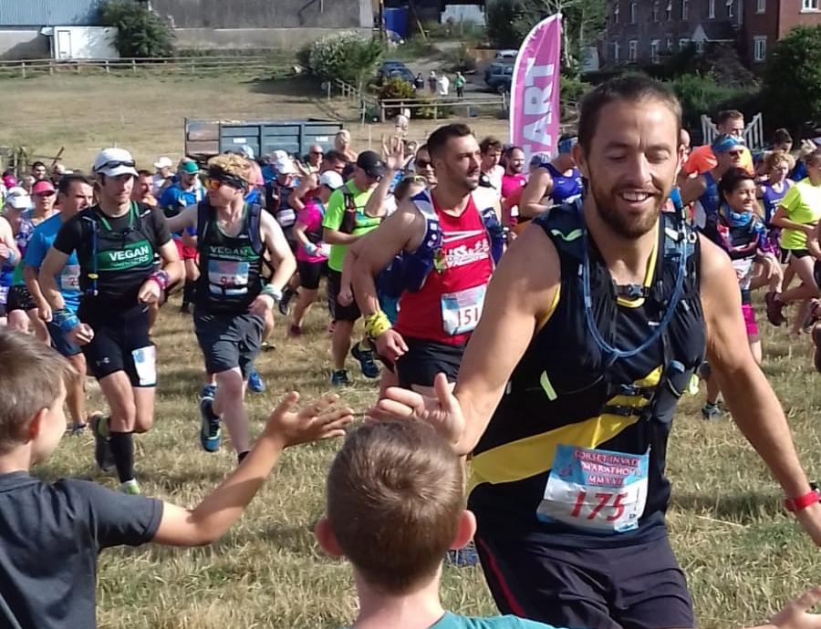 Poole AC at Dorset Invader Marathon