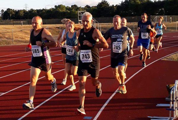 3000m Ashdown track 2018