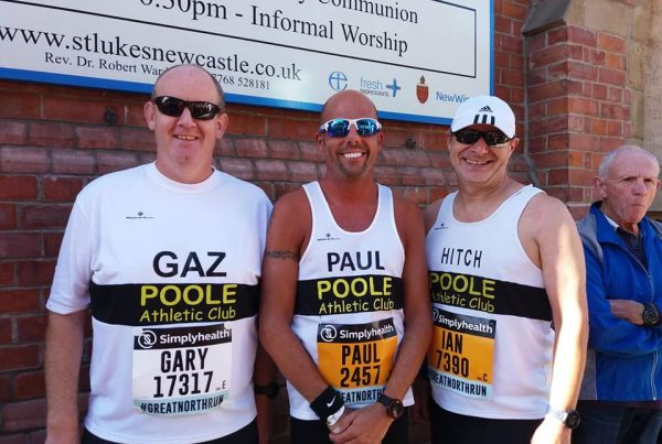 Poole AC at the Great North Run