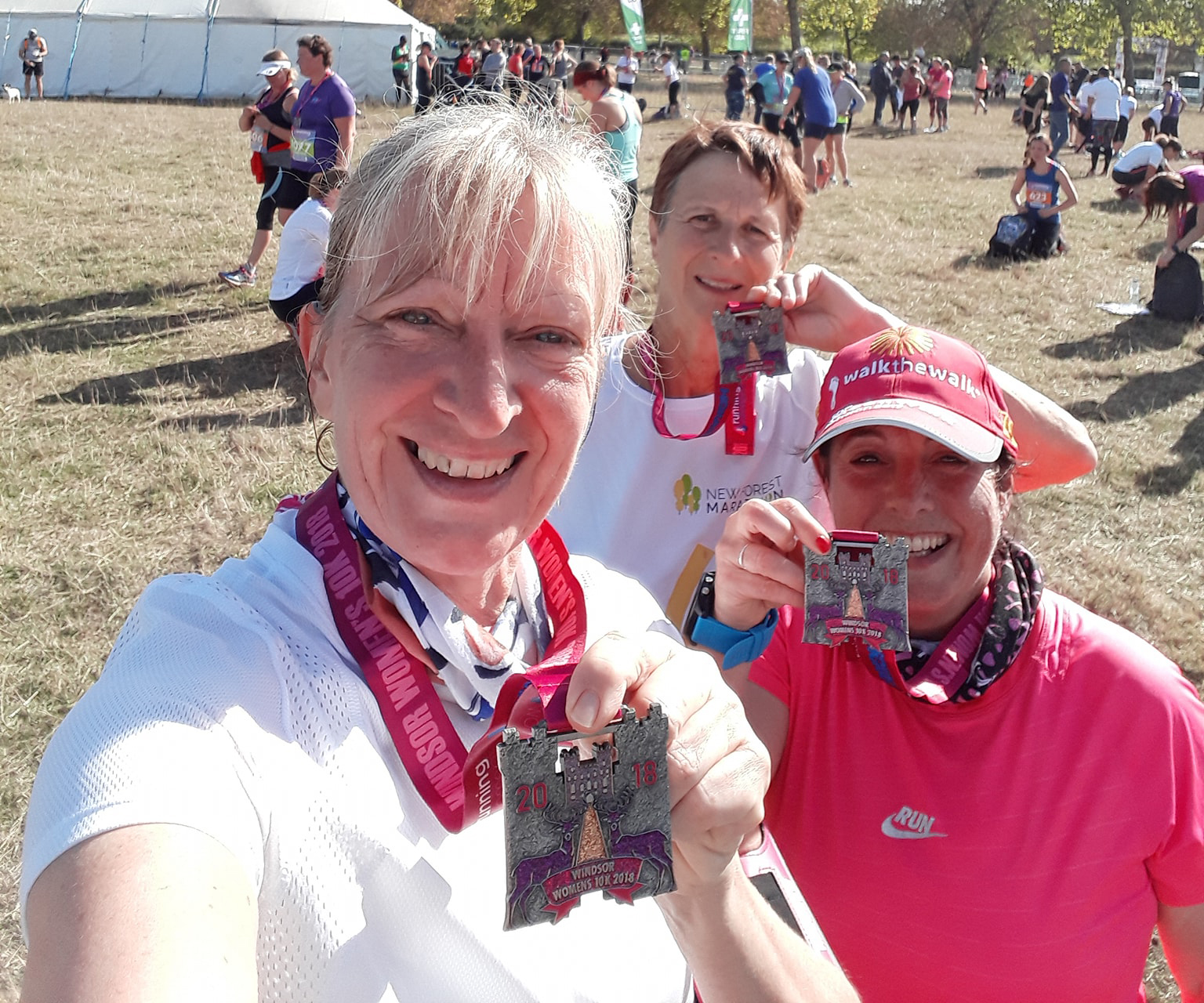 Poole AC at Windsor running for women 10k