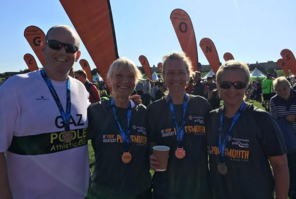Poole AC at Great South Run