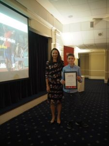 Jo Pavey and Will Rabjohns SW Regional Awards 2018