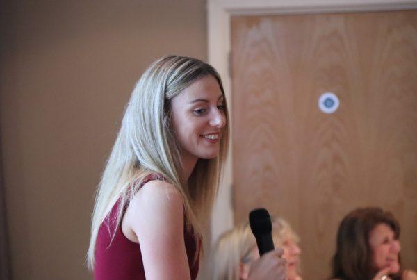 Melissa Courtney at Poole AC Awards Presentation