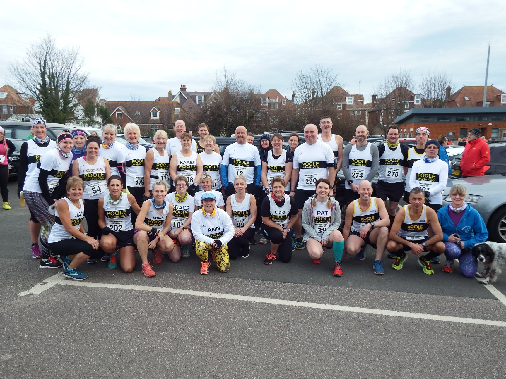 Poole AC at Swanage 10k
