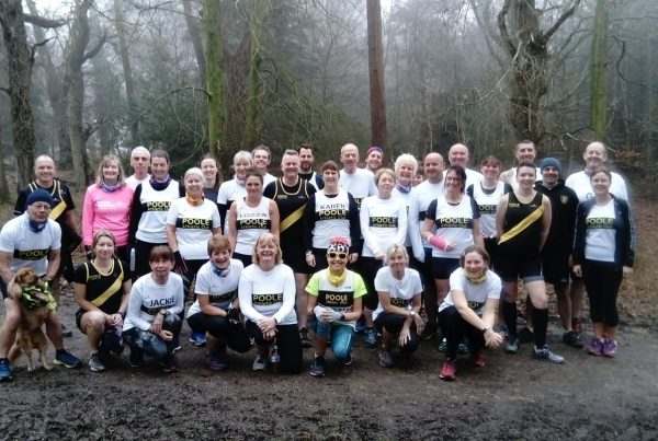 Poole AC at Brockenhurst parkrun