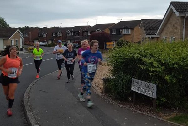 Runners taking part in the Poole AC Handicap 5k