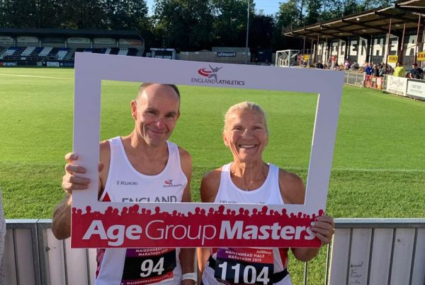 Age Group Masters - Susie and Alan