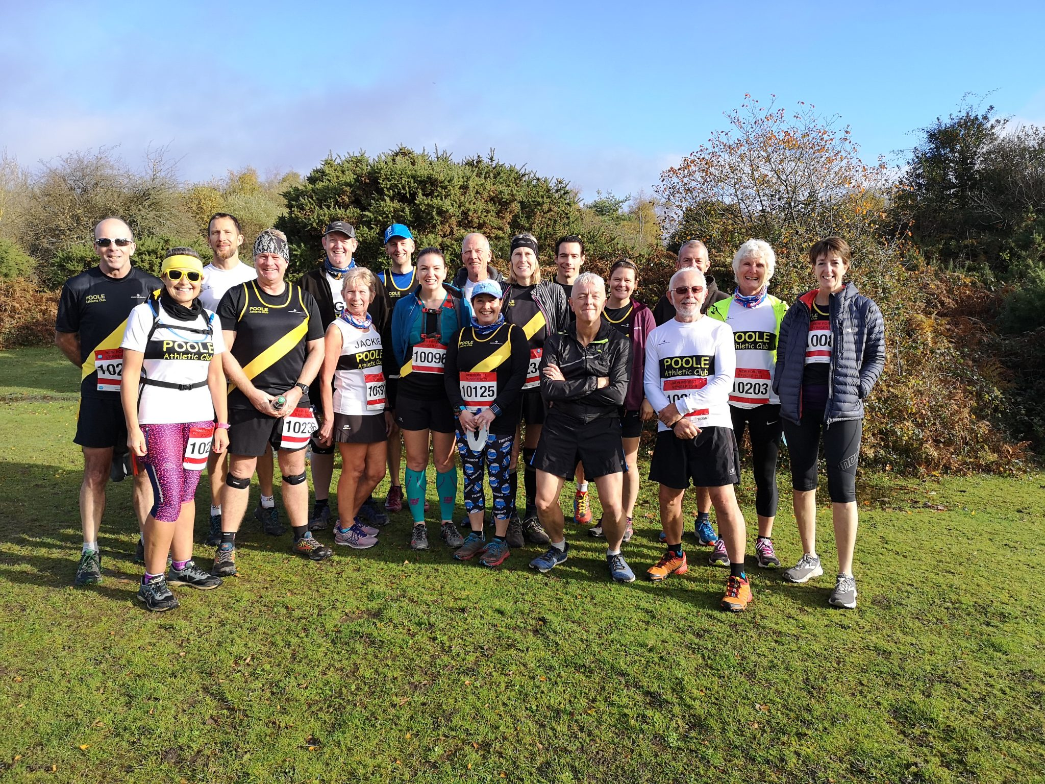 Poole AC at the New Forest Stinger 10 miles