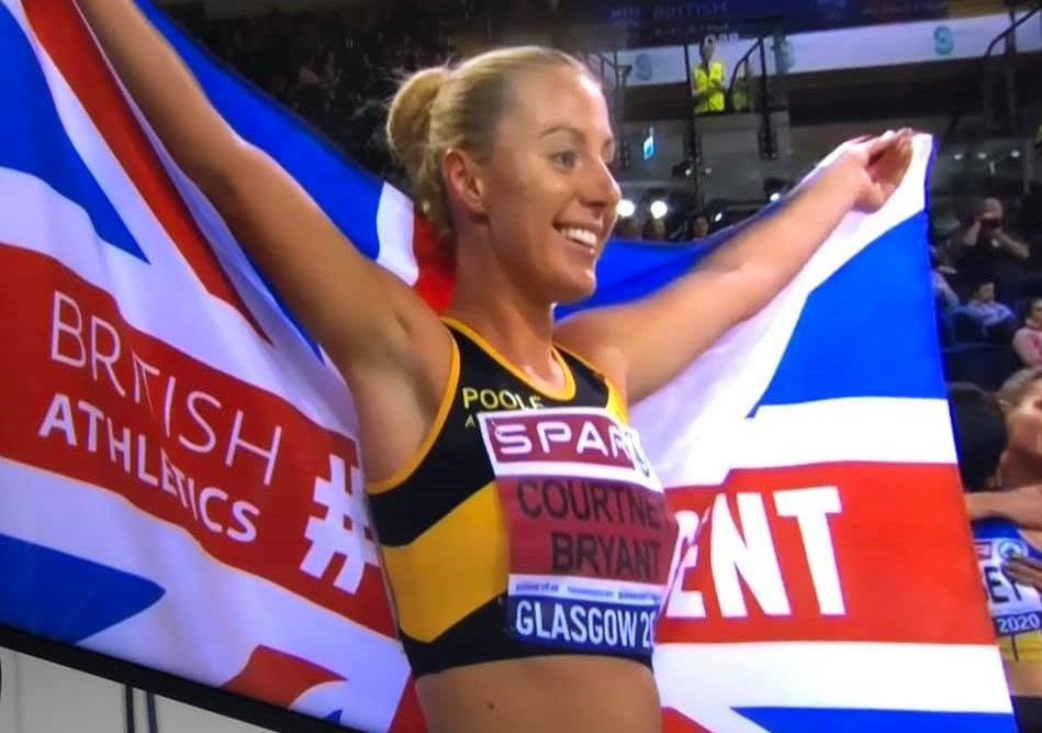 Melissa Courtney, Poole AC at British Indoor Championships